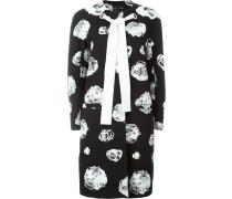 Mantel mit Blumen-Print