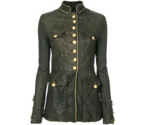 fitted military jacket