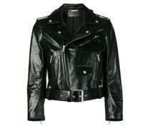 Bikerjacke in Vinyl-Optik