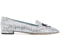 '#FindMeInWonderland' Slipper mit Glitzerapplikation