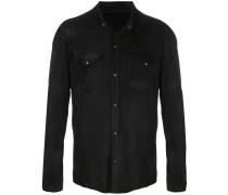 Jacke aus Leder