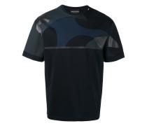 T-Shirt mit Kontrasteinsatz - men - Baumwolle