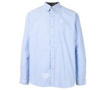 AAPE BY *A BATHING APE® 'Aape' Button-down-Hemd