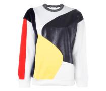 Pullover mit Pelz-Effekt