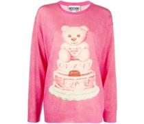 cake teddy bear wool jumper