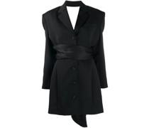 Blazer-Kleid mit offenem Rücken