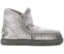 'Eskimo' Stiefel im Metallic-Look
