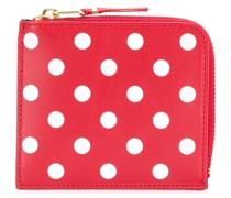 dots printed wallet