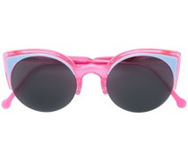 Cat-Eye-Sonnenbrille mit Kontrastgläsern