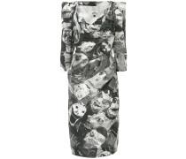 Schmales Kleid mit Print