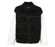 loose fit denim jacket