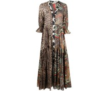 Kleid mit Animal-Print