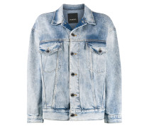 Ausgeblichene Jeansjacke