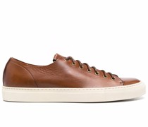 flat lace-up sneakers