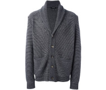 woven relaxed cardigan