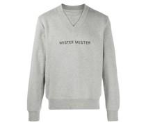 """Sweatshirt mit """"Mister""""-Stickerei"""