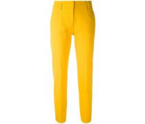 - cropped trousers - women - Baumwolle/Elastan