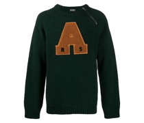 Pullover mit College-Patch