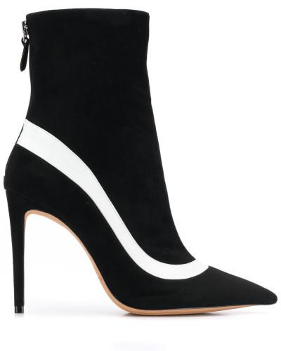 Gestreifte Sock-Boots