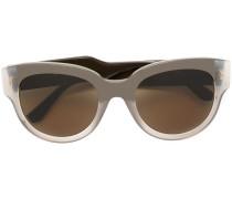 Transparente Sonnenbrille