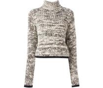 'Tweedy Turtleneck' Pullover