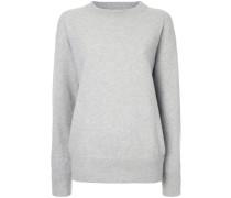 Pullover mit gerüschten Ärmeln