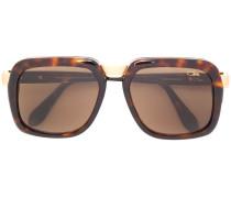 tortoiseshell oversized sunglasses