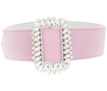 crystal-buckle belt