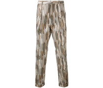 Skinny-Hose mit Camouflage-Print - men