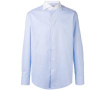 Hemd mit Kontrastkragen - men - Baumwolle - 44