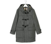 Duffle-Coat mit Kapuze