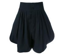 Hoch sitzende Shorts - women