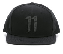 embroidered logo baseball cap - men - Polyester