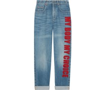 'My Body My Choice' Jeans
