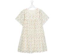 printed flared dress - kids - Baumwolle - 14 yrs