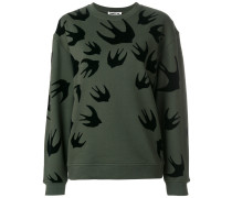 Bird print sweatshirt