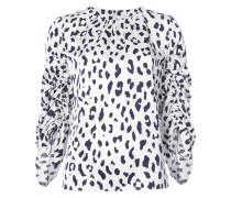 cheetah printed blouse