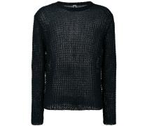 Klassischer Pullover - men - Leinen/Flachs - XL