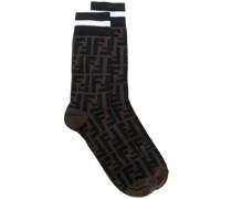 Socken mit Logo-Muster
