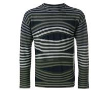 long sleeved stripe sweater