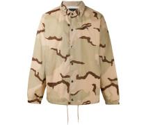 - Military-Jacke mit Camouflage-Print - men