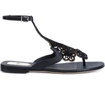 Sandalen mit floralem Design