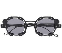 Eckige 'V1' Sonnenbrille