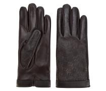 Handschuhe mit Logo-Prägung