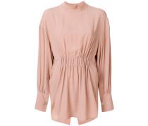 puckered blouse