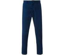 Schmale Cropped-Hose