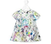- Kleid mit Blumen-Print - kids - Seide/Baumwolle