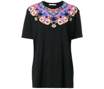 kaleidoscope print T-shirt