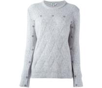 Pullover mit Karo-Strickmuster