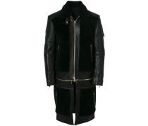 multipurpose panelled coat